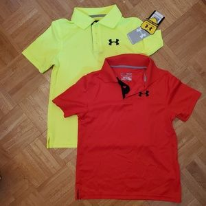 b1c916c14 Under Armour Polos Boys SM Youth